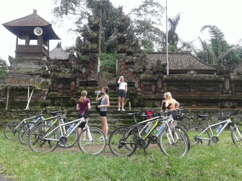 Bali Ventur Cycling downhill