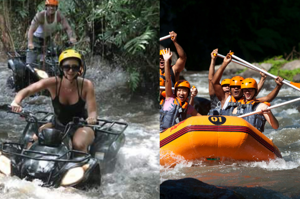 ATV Ride and Rafting Tour
