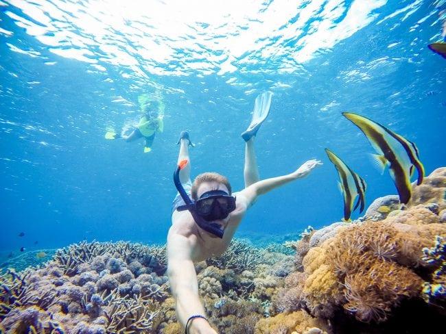 Nusa Lembongan snorkeling tour