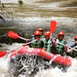 white water rafting Bali Ayung river